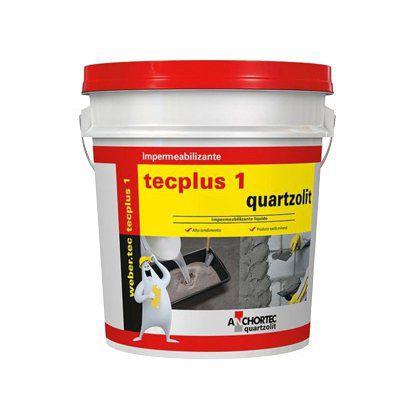 Impermeabilizante Quartzolit Tecplus N.1 18L