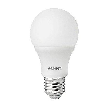 Lâmpada Avant Super LED Pêra 9W 6500K Branca Kit com 10 Unidades