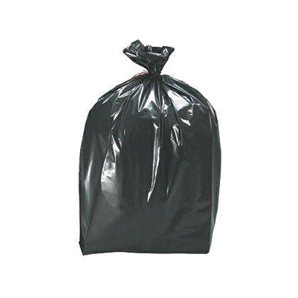 Saco Plástico IBR para Areia 28x50cm Preto Pacote com 100 UN