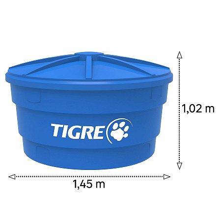 Caixa D'Água Tigre de Polietileno 1000 Litros