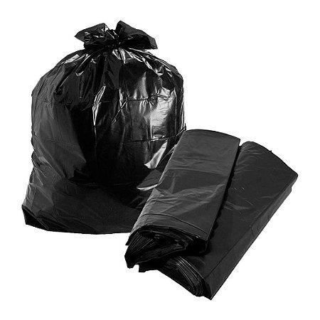 Saco Plástico Geraplast para Lixo Preto 200 Litros 90 x 100 cm Pacote com 100 UN