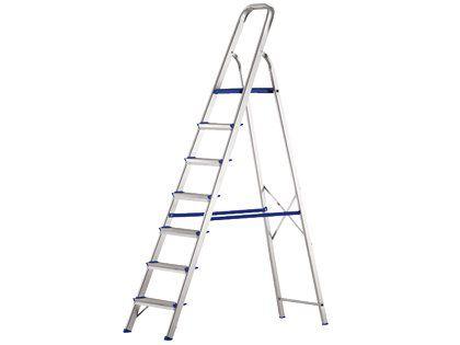 Escada SBA de Alumínio com 08 Degraus