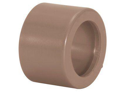 Bucha de Redução Tigre Soldável PVC Curta 25mm x 20mm Embalagem com 50 Unidades