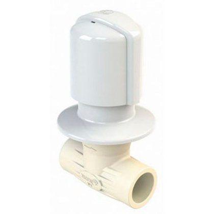 Registro Tigre PVC para Chuveiro 25mm Soldável Branco
