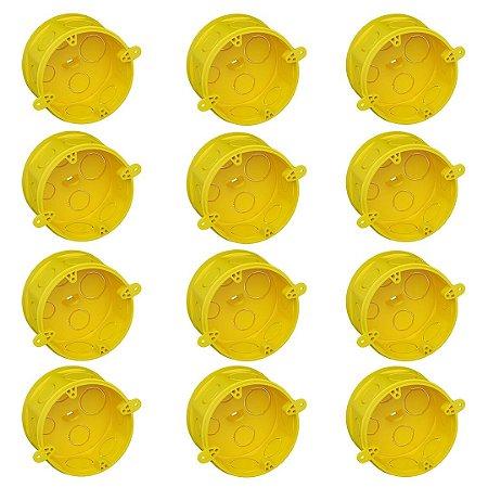 Caixa de Luz Octogonal Tigre Fundo Móvel 4x4 Embalagem com 12 Unidades