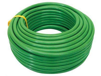"""Mangueira Acquaflex Super Flexível Verde 3/4"""" x 2,0mm com 50 Metros"""