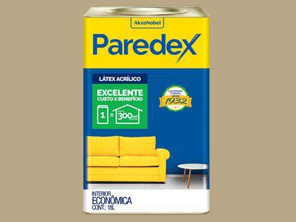 Tinta Acrílica Paredex Coral Lata 18L Concreto Paulistano