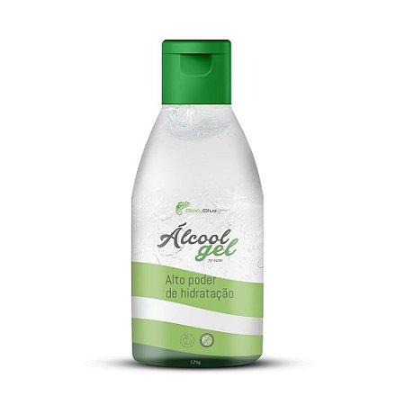 Alcool Gel 70% Body Blue Antisséptico e Higienizador 200ml Caixa com 24 Unidades