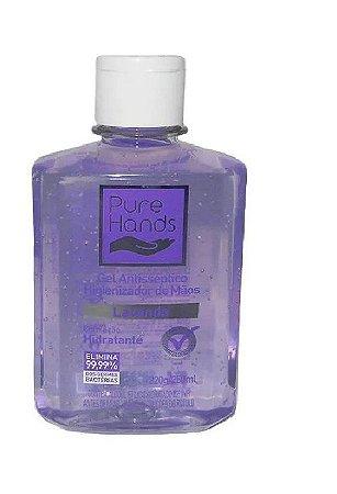 Álcool Gel 70% Pure Hands Antisséptico e Higienizador 250ml Kit com 12 Unidades