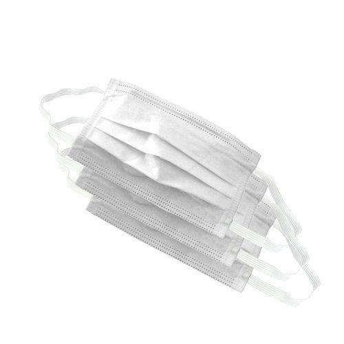 Máscara de TNT Dupla Camada com Elástico Pacote com 10 Unidades