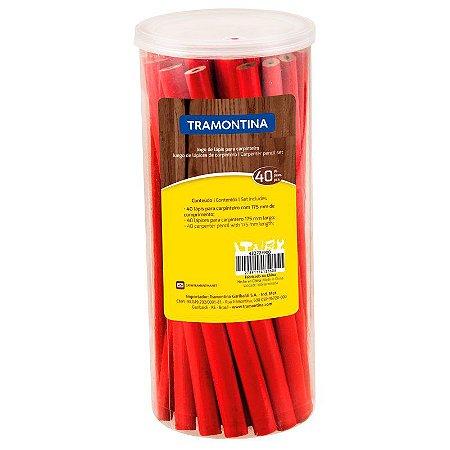 Jogo de Lápis Tramontina para Carpinteiro com 40 Unidades