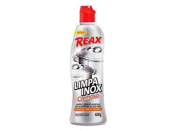 Limpa Inox Reax Nobel Cremoso 400g