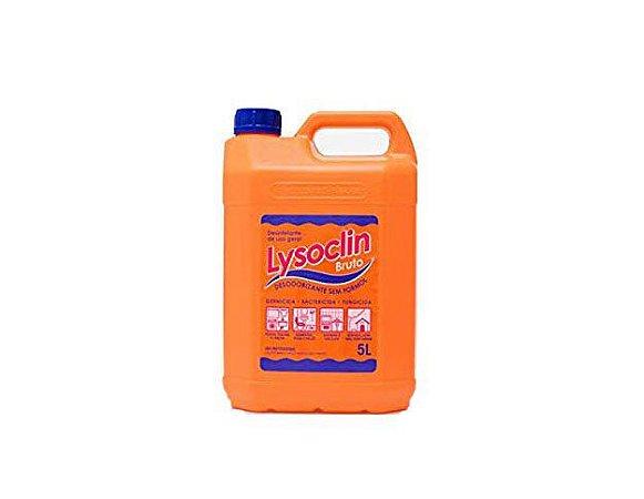 Desinfetante e Bactericida Lysoclin Bruto 5 Litros