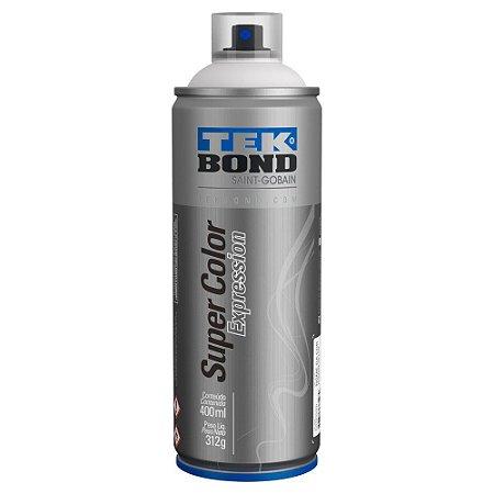 Tinta Spray TekBond Super Color Expression Branco 577 400ml