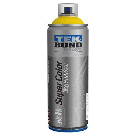 Tinta Spray TekBond Super Color Expression Amarelo Slime 509 400ml