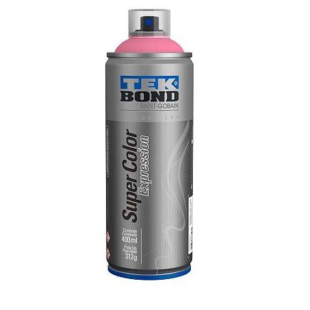 Tinta Spray TekBond Super Color Expression Rosa Candy 527 400ml