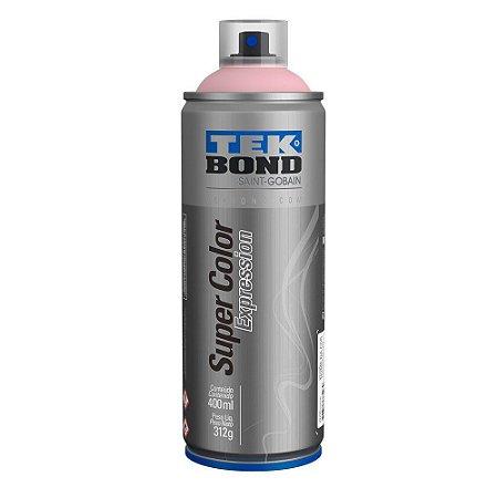 Tinta Spray TekBond Super Color Expression Rosa Aurora 529 400ml