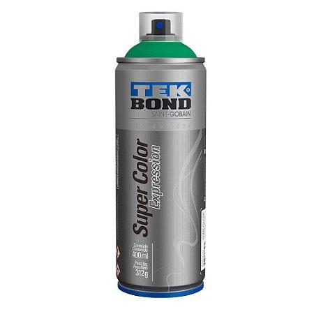 Tinta Spray TekBond Super Color Expression Verde Campo 563 400ml