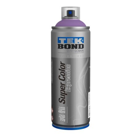 Tinta Spray TekBond Super Color Expression Ultravioleta 538 400ml