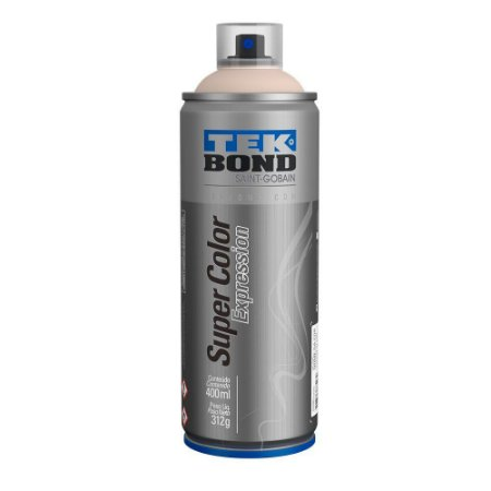 Tinta Spray TekBond Super Color Expression Perola 505 400ml