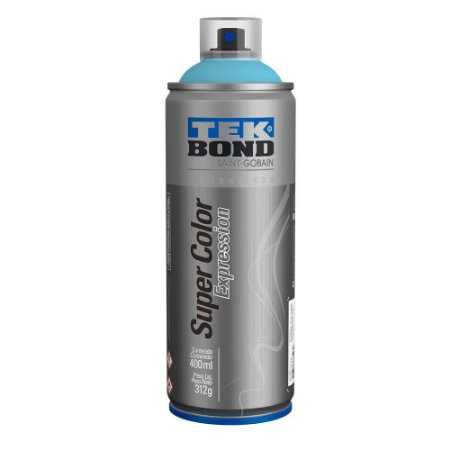 Tinta Spray TekBond Super Color Expression Azul Sky 547 400ml