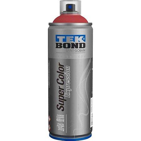 Tinta Spray TekBond Super Color Expression Marsala 519 400ml