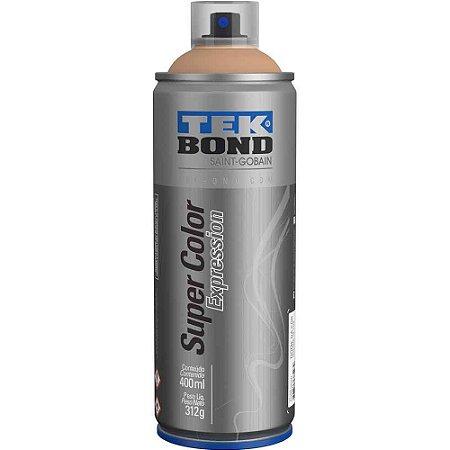Tinta Spray TekBond Super Color Expression Capuccino 503 400ml