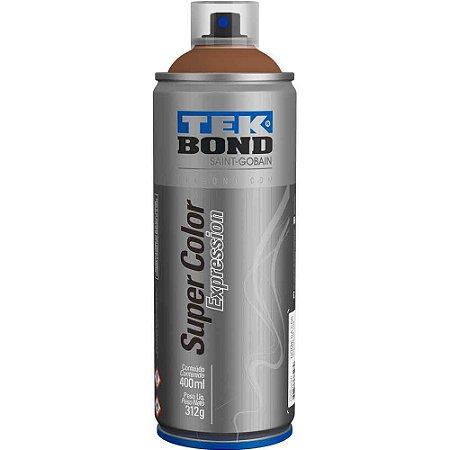 Tinta Spray TekBond Super Color Expression Marrom Ebano 501 400ml