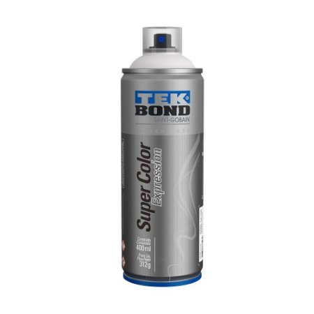 Tinta Spray TekBond Super Color Expression Branco Técnico 579 400ml
