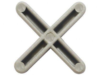 Espaçador para Piso Juntapiso 04mm Formato de Cruz Embalagem com 100 Unidades