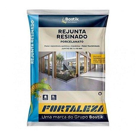 Rejunte Resinado Fortaleza Bostik Cinza 20 Sacos com 01 kg Cada