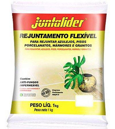 Rejunte Flexível Juntalider Caramelo 20 Sacos com 01 Kg Cada