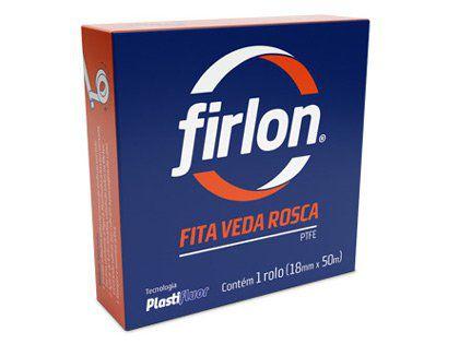 Fita Veda Rosca Firlon 12mm x 10m Caixa com 60 Unidades