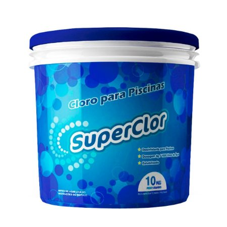 Cloro Clor Up Super Clor Balde 10Kg