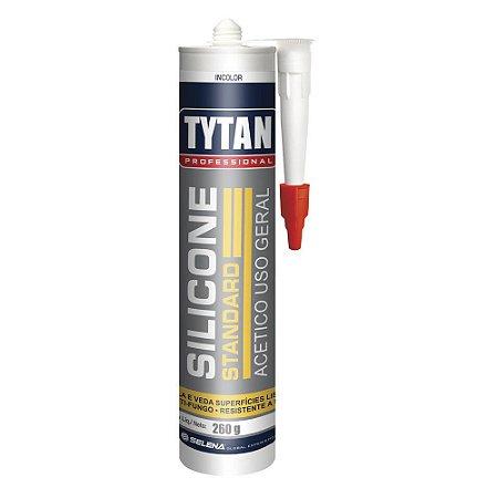 Silicone Tytan Standard Acético Uso Geral 260g Incolor