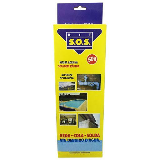 Kit SOS Vedatudo 50g Secagem Rápida com 12 unidades