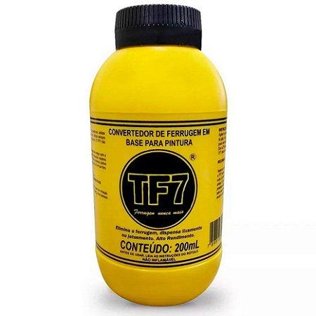 Convertedor de Ferrugem em Base de Pintura TF7 200ml Embalagem com 12 Unidades