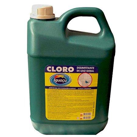 Cloro de Limpeza Iguaçu de Uso Geral com 5 Litros