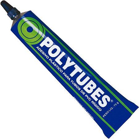 Cola para PVC Polytubes Bisnaga com 75 Gramas