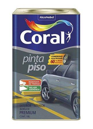 Tinta Pinta Piso Coral Premium Concreto Lata 18 Litros