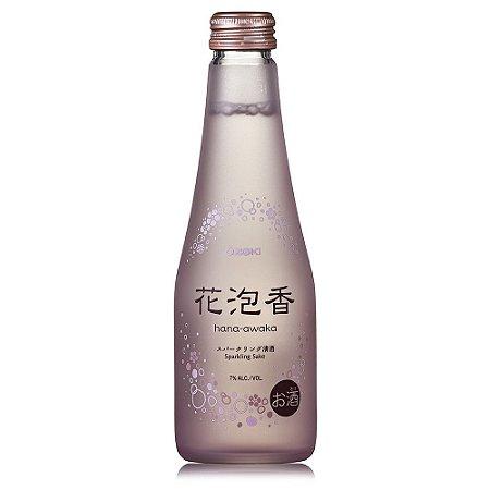 Sake Sparkling Hana-Awaka 250ml