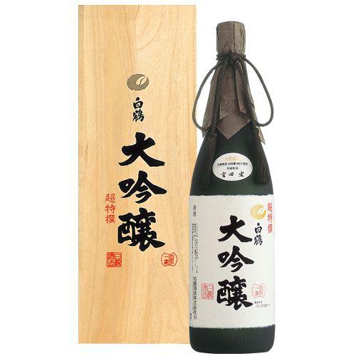 Sake Hakutsuru Cho Tokusen Daiginjo 1.8L