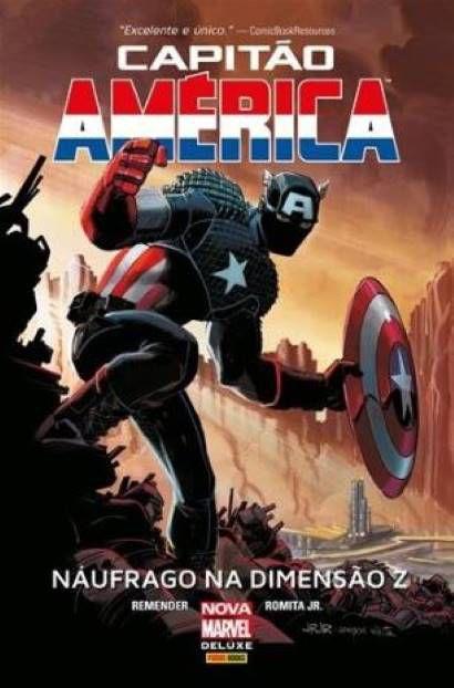 Capitão América - Náufrago na Dimensão Z