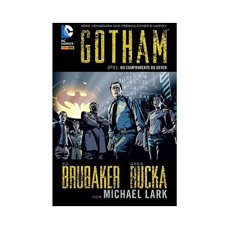 Gotham:  No Cumprimento do Dever - volume 1