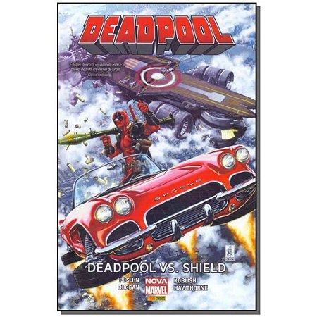 DeadPool - DeadPool vs Shield