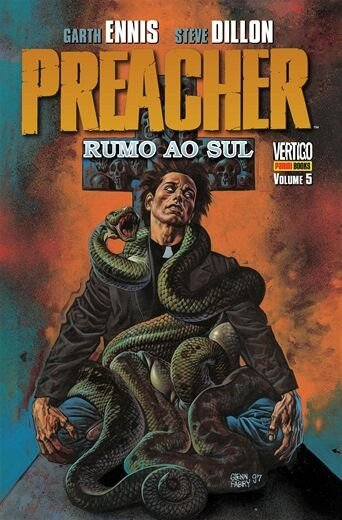 Preacher Rumo ao Sol - Volume 05