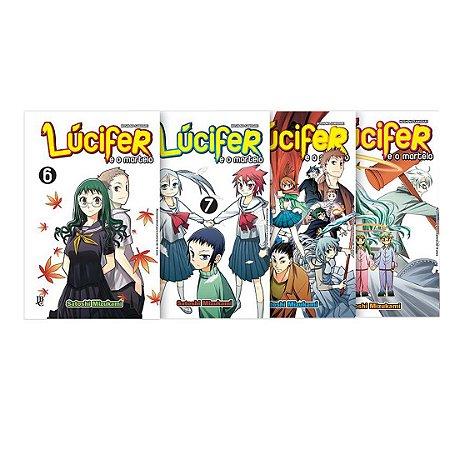 Box Lucifer e o Martelo - Volume 6 a 9