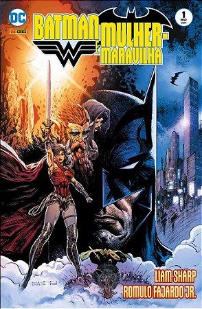 Batman & Mulher Maravilha: Os Corajosos e os Ousados Ed 1