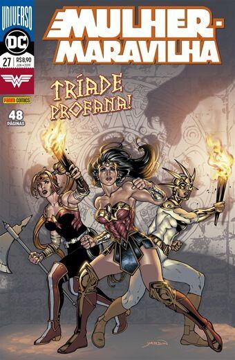 Mulher-Maravilha:  Tríade Profana - Volume 27