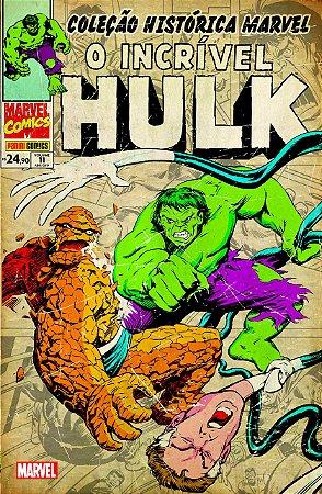 O Incrível Hulk : Volume 11 - Coleção Histórica Marvel